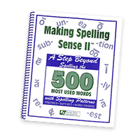 Learn to Spell beyond the 500 Most Used Words