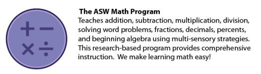 ASW Math PRogram Teaches75