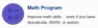 math help, dyscalculia, learning disabilities