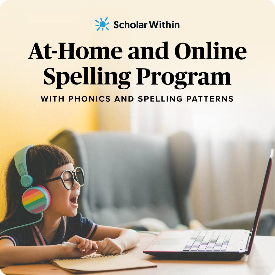 At-Home Online Spelling Program