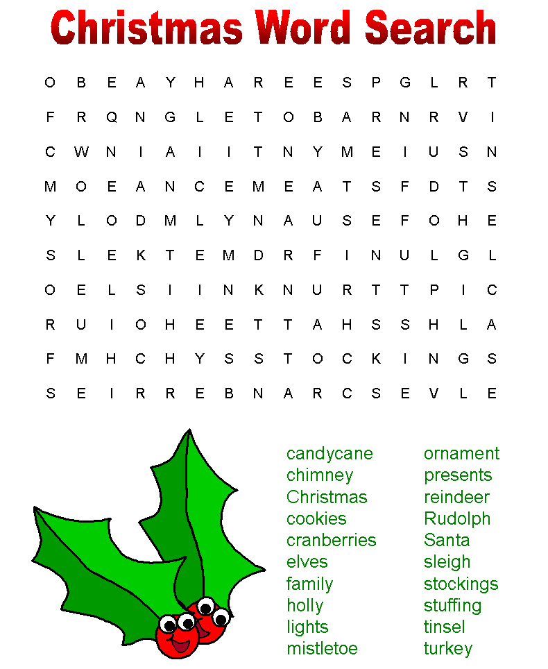 Christmas Words That Start With A.Holiday Activities Are Here Bonnie Terry Learning