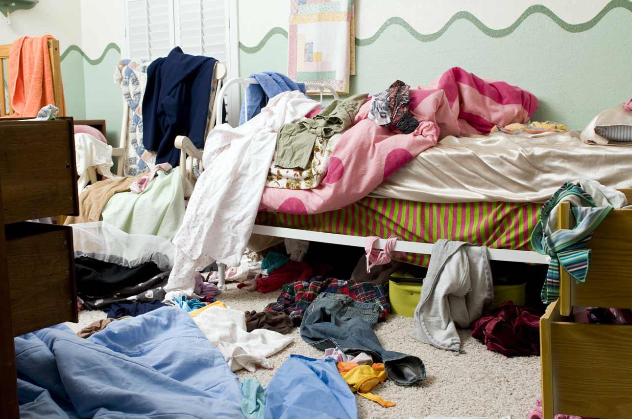 Clean Bedrooms to Help ADHD Sleep Problems