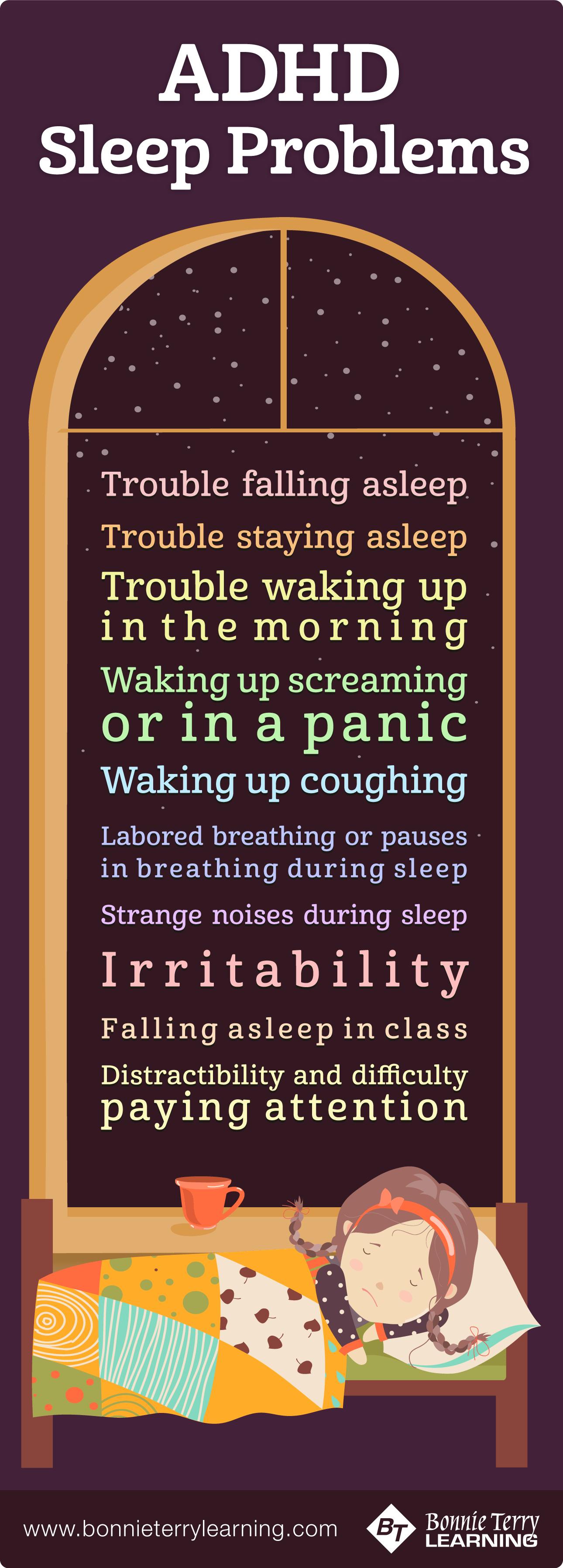 ADHD Sleep Problems and Symptoms