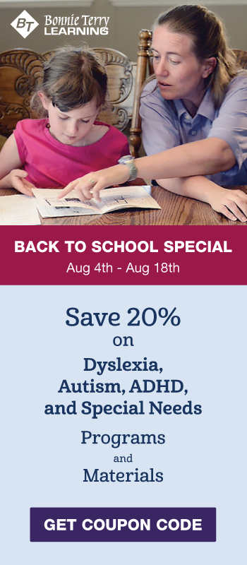 Back to School Special - Dyslexia Program