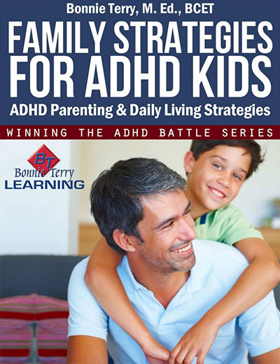 Signs of ADHD, Family Strategies for ADHD Kids