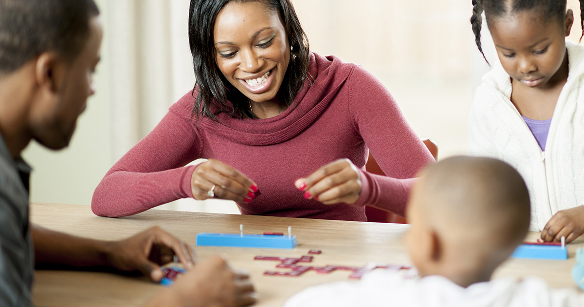 Family Holiday Games and Activities