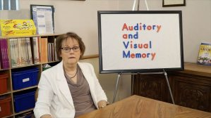 Auditory and Visual Memory: Associative Learning