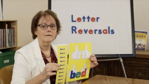 B and D Letter Reversals