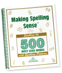 learn to spell with phonics