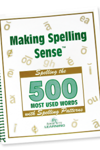 auditory processing, learn to spell with phonics