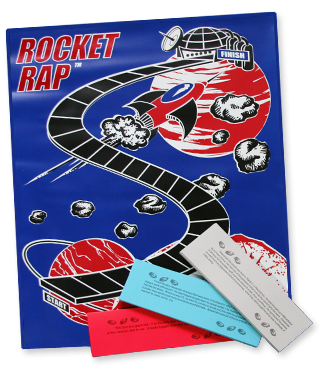 Comprehension, improve comprehension, The Comprehension Zone: Rocket Rap