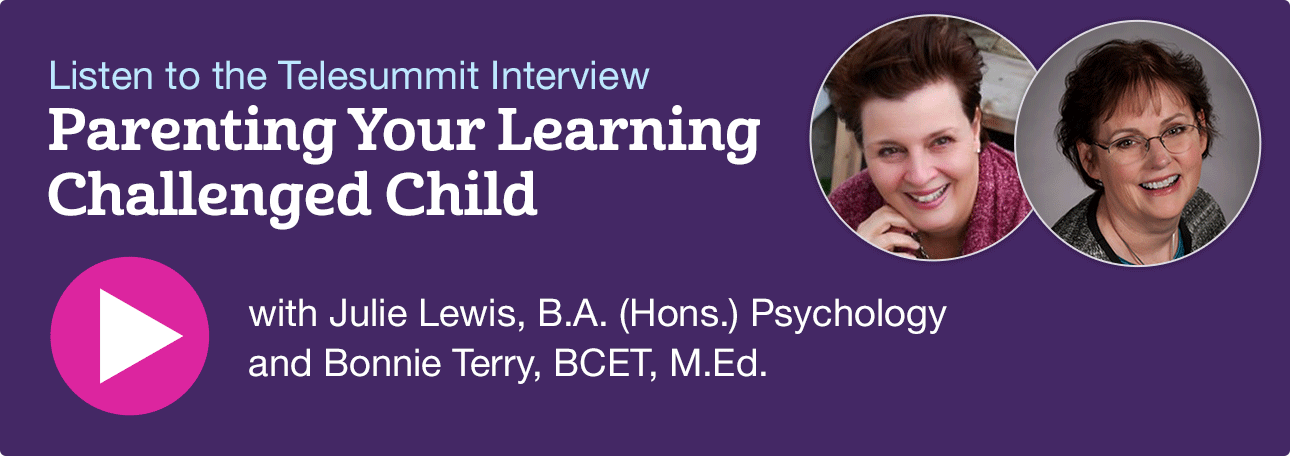 Listen to the Parenting Your Learning Challenged Child Telesummit